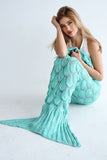 ARIEL MERMAID BLANKET - TEAL
