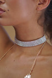 AMELIE DIAMANTE CHOKER - 5 ROW