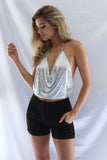 PARIS TOP - SILVER - Stunner Boutique  - 6