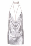 KENDALL METAL DRESS - Stunner Boutique  - 1