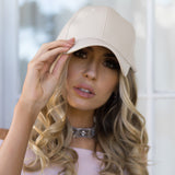 AVERY FAUX LEATHER CAP - Stunner Boutique  - 3