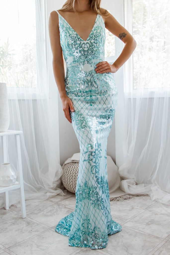 Winstelle Sequin Gown