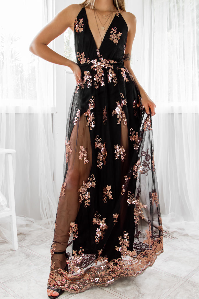 Lorena Gown - Black