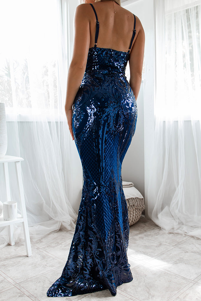 Athena Sequin Gown