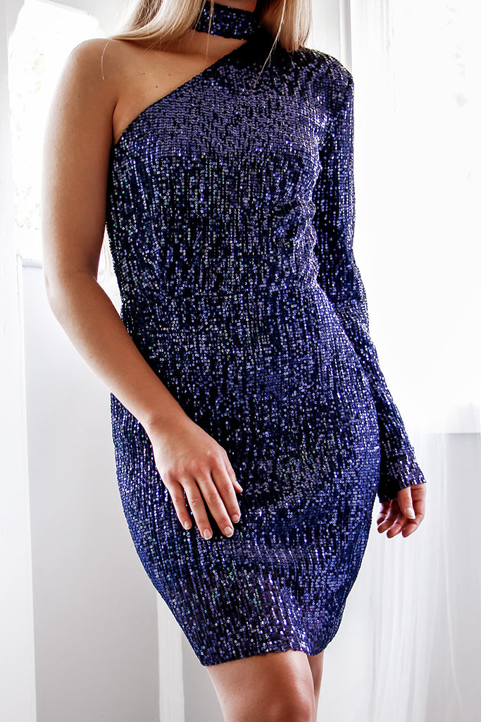 Natali Sequin Dress