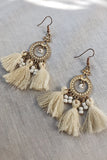 Midsummer Earrings - Cream