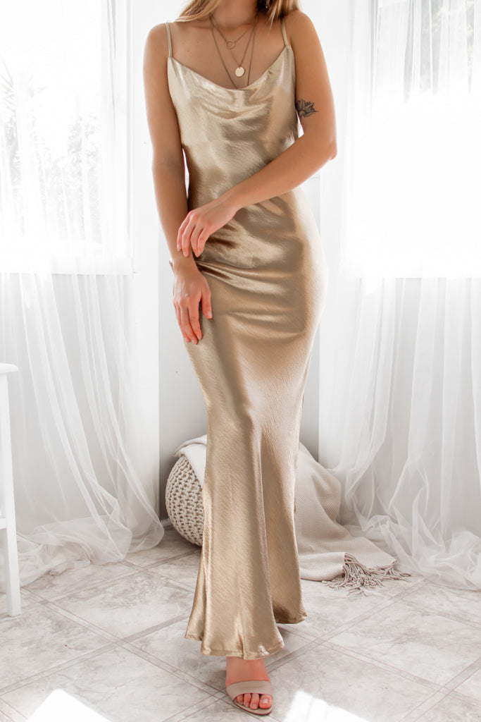 Golden Light Gown