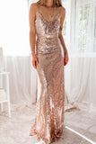 Alanna Sequin Gown