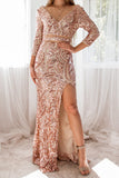 Marcela Sequin Gown
