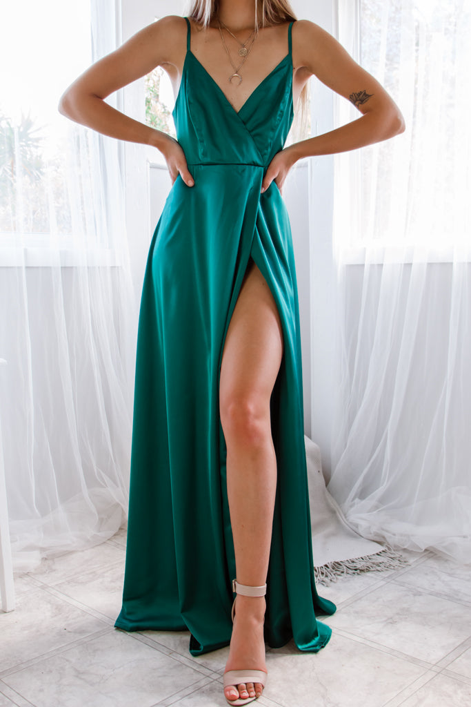 Starlet Gown - Emerald Green