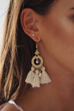MIDSUMMER EARRINGS - CREAM - Stunner Boutique  - 1