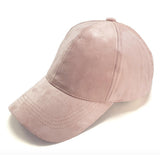 ARIEL SUEDE CAP - DUSTY PINK - Stunner Boutique  - 1