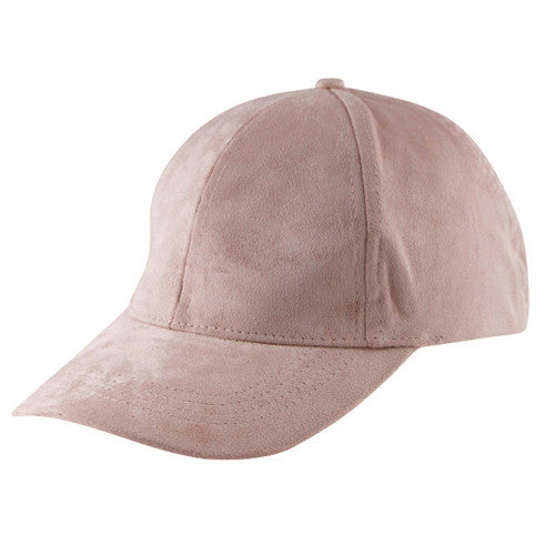 ARIEL SUEDE CAP - DUSTY PINK - Stunner Boutique  - 2
