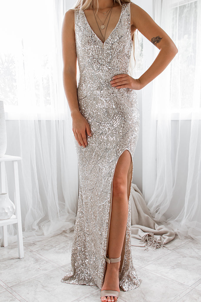 Ophelia Sequin Gown