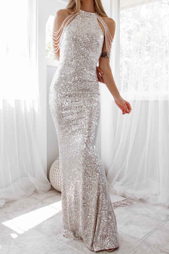 Cristelle Sequin Gown