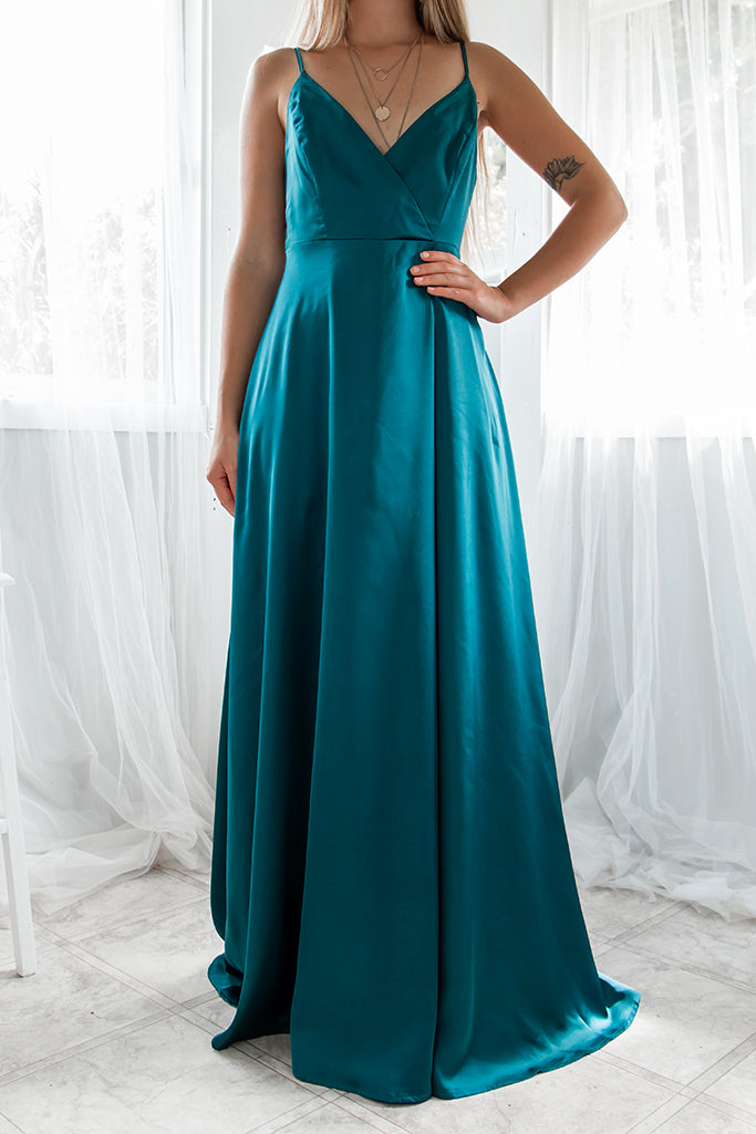 Starlet Gown - Teal