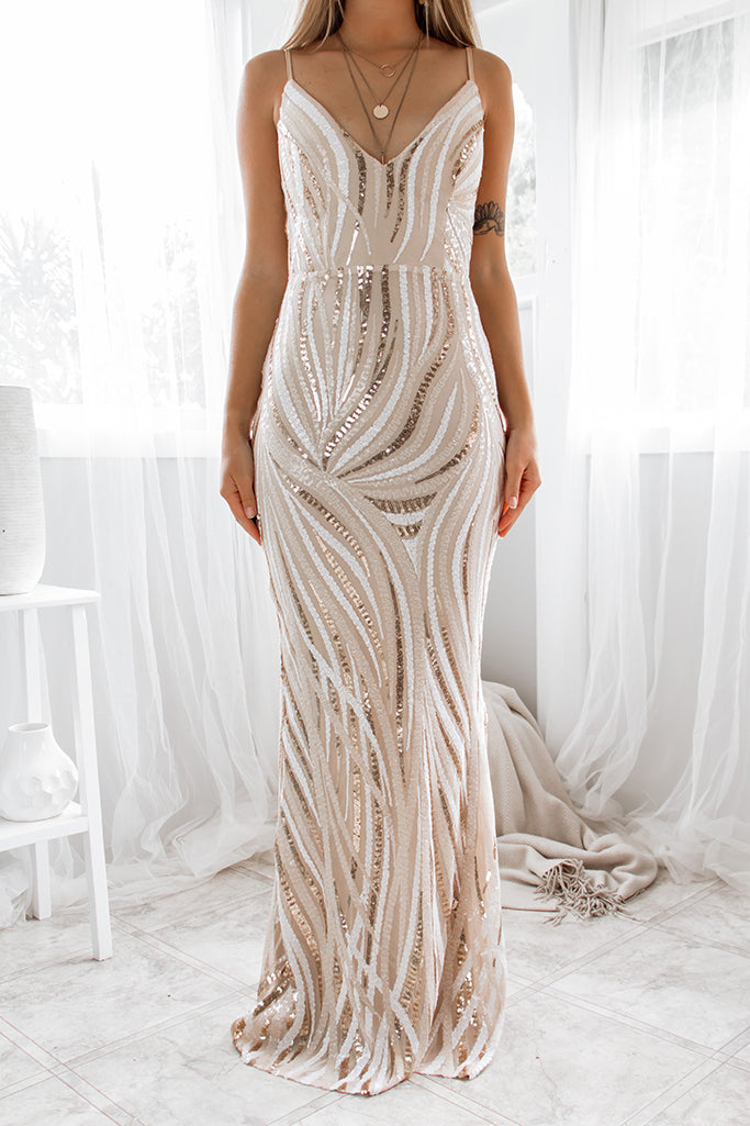 Harper Sequin Gown