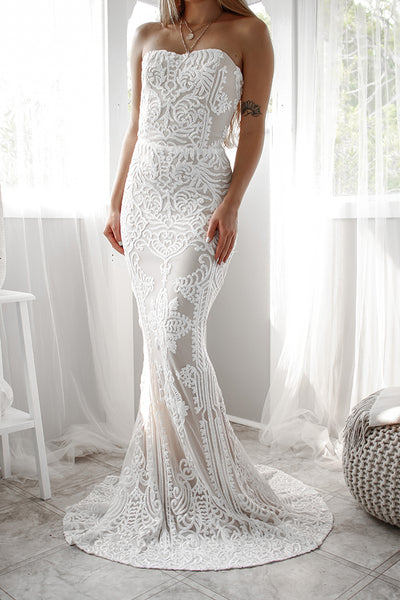Quinn Sequin Gown