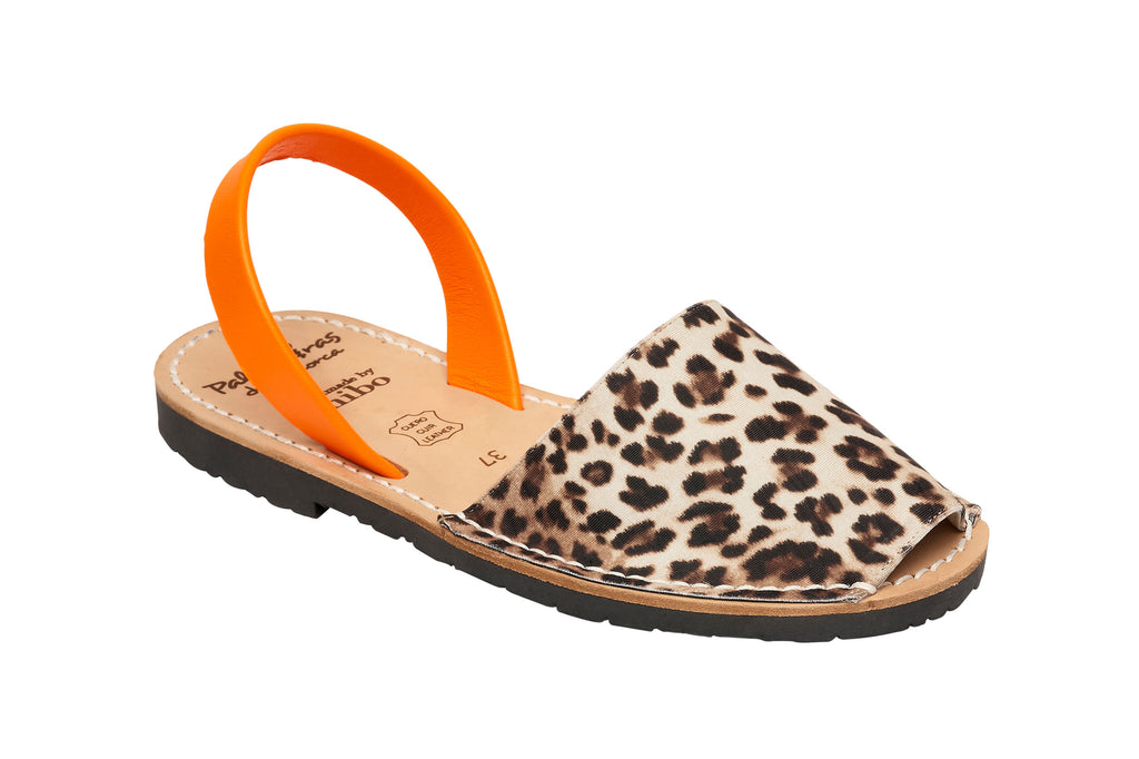 Minor Imperfections Leopard & Orange