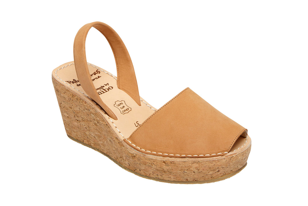 Tan Wedge