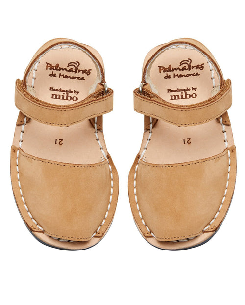 Palmaira Sandals Australia Hook & Loop - Tan Nubuck