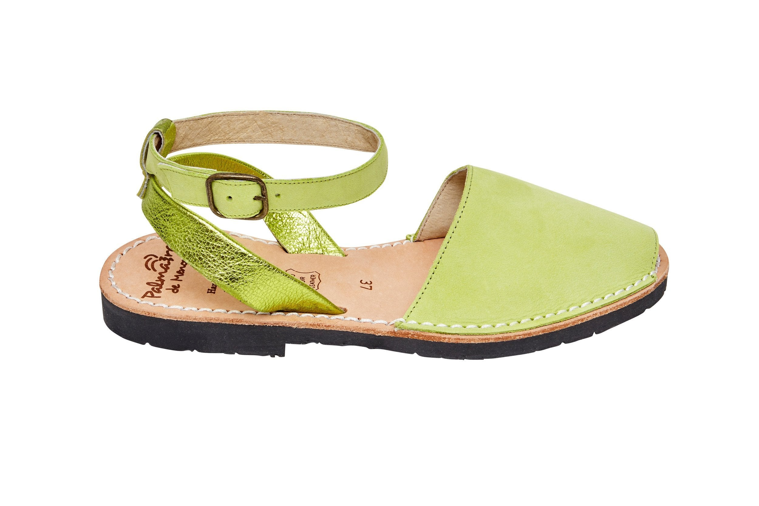 Palmaira Sandals Australia Lime Green Multiway
