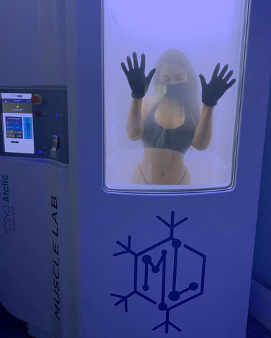 Cryotherapy session in Los Angeles