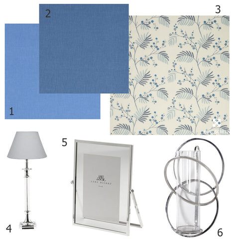 interior look of the week | blue tones