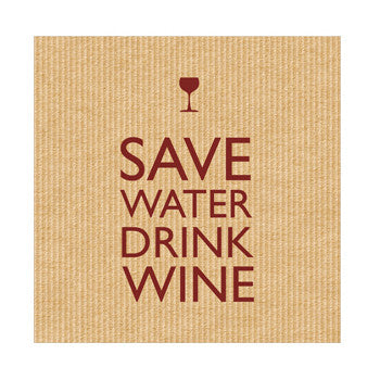Save Water Napkins