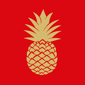 Golden Pinapple Red