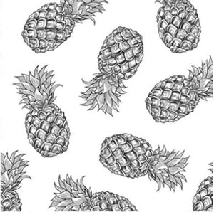 Tropical Pineapples Napkins