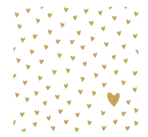 Little Gold Hearts
