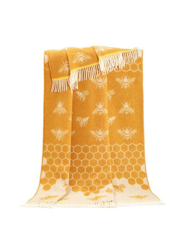 Bee Wool Throw