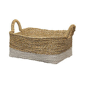 Rectangular Woven Basket - Medium