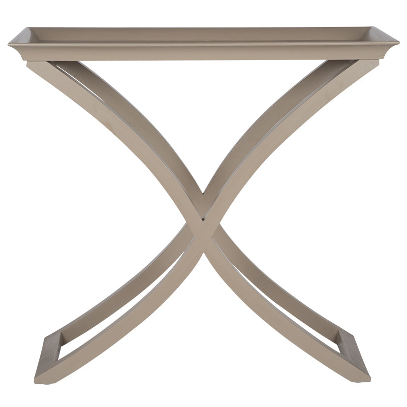 Brushed Fawn Mango Wood Console Table