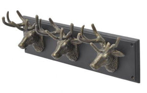 Buckden 3 Stag Wall Hook