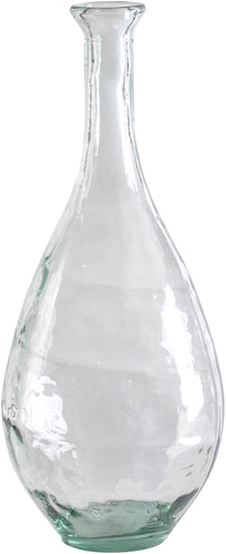 Recycled Glass Large Teardrop Vase