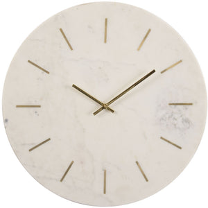 Brass Inlay Clock