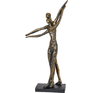 Bronze Standing Couple