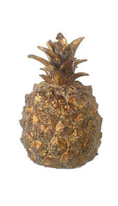 PINEAPPLE H115X75MM ANTQ GLD