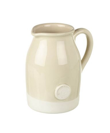 JUG ARTISAN H200X190MM CERM CREAM