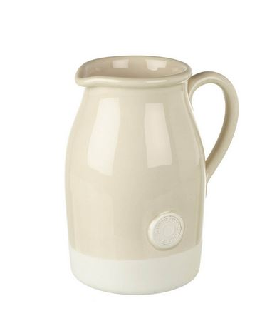 JUG ARTISAN H260X210MM CERM CREAM