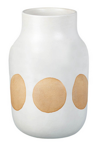 Vase Serenity White /Natural Medium