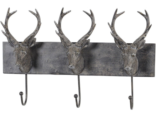 Stag Head Wall Hooks