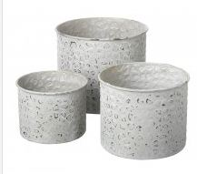 Leopard Print Planter Set of 3