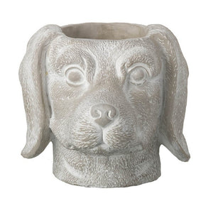 Dachshund Head Pot