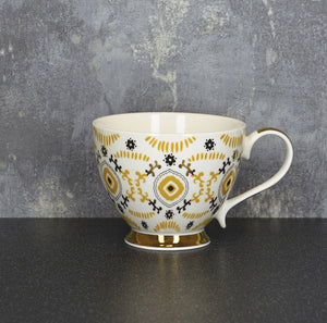 Ochre and Gold Mug