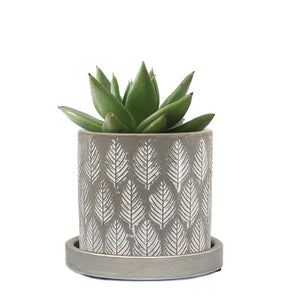Balter planter Grey Leaves