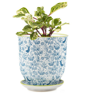 Big Liberte Planter Blue Bird