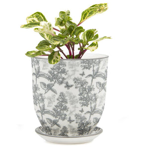 Big Liberte Planter Grey Forest